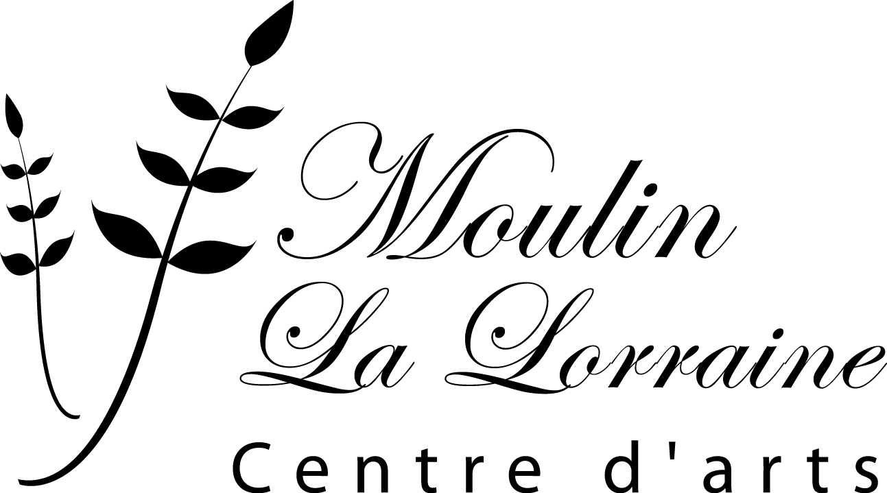 Logo Moulin La Lorraine Noir