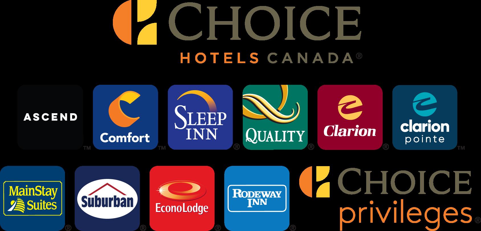 Nouveau Logo Choice Hotels Canada Mars 2020 Gros