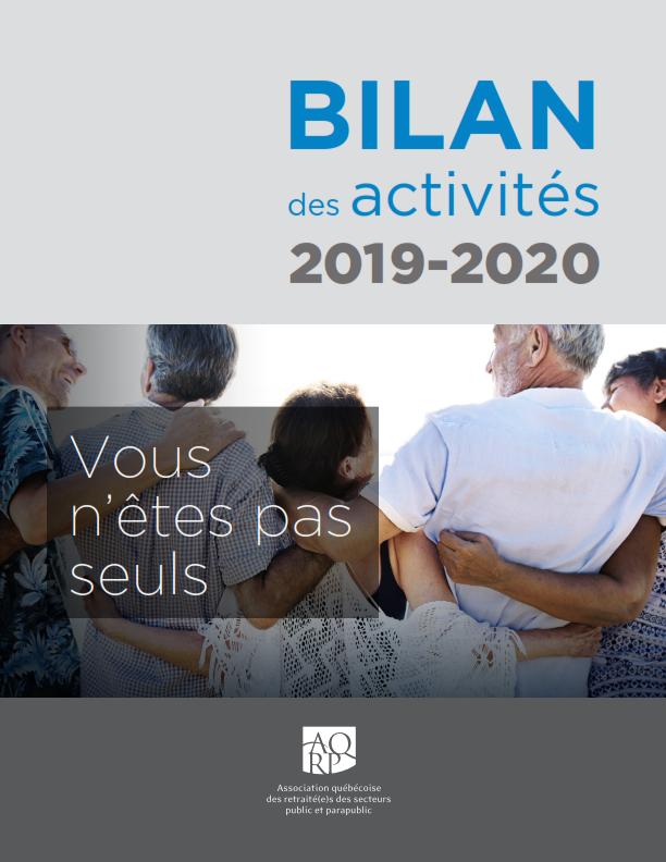 Bilan2019 2020 Une