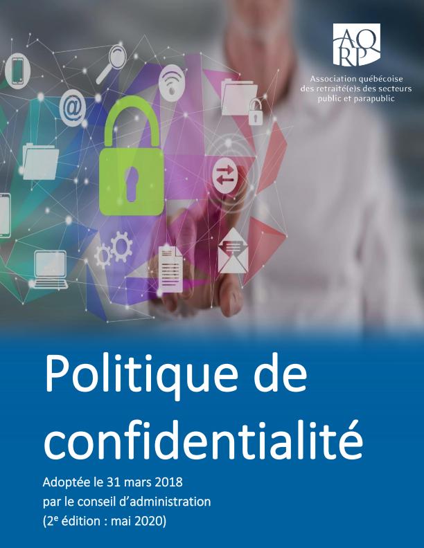 Politique Confidentialite Une